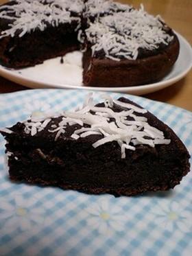 炊飯器で濃厚チョコレートケーキ