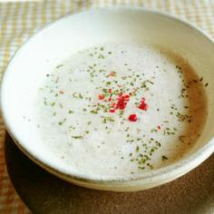 えのき茸と椎茸のポタージュスープ