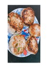 簡単ヘルシー豆腐と鶏ひき肉のハンバーグ