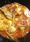 鶏チューリップのトマト煮