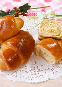 30分で完成⁉不思議パンの黒糖ロールパン