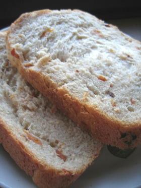 ホシノで 干し柿&ライ麦粉&お餅の食パン