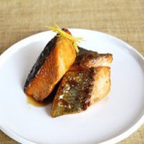 秋鮭の柚庵焼き