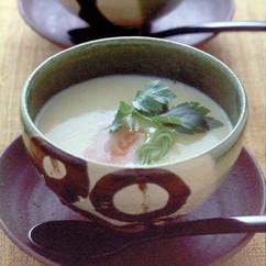 鮭の茶碗蒸し