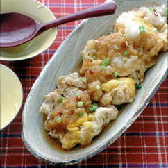 揚げ卵のおろし煮