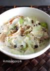 m豚とキャベツの中華クリーム煮