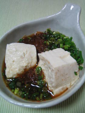 つけだれがウマッ★我が家の湯豆腐