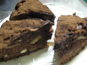 泡立てなし★ふんわり濃厚チョコケーキ