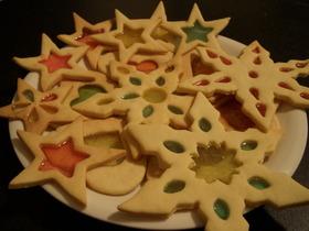 キラキラ☆ステンドグラスクッキー