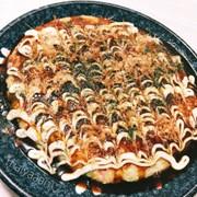*お豆腐でヘルシーお好み焼き*の写真