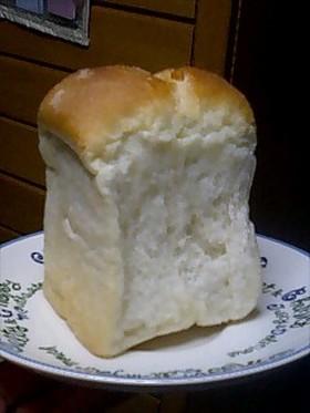 天然酵母 クリーム食パン