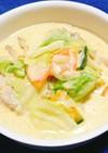 チキンとお野菜のカレークリーム煮