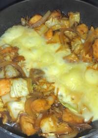 簡単 コチュジャン代用 チーズタッカルビ