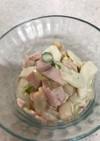 白瓜とお豆のサラダ