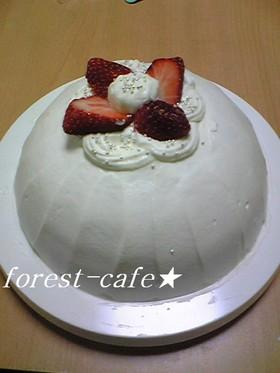 ズコット クリスマスケーキ