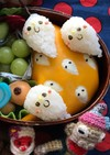 簡単キャラ弁 ハロウィン おばけ薄焼き卵