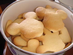 さくさく☆型抜きスキムミルククッキー