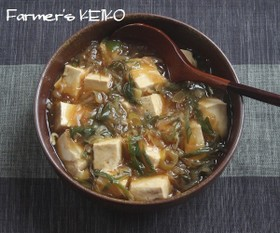 【農家のレシピ】豆腐と長ねぎの煮込み