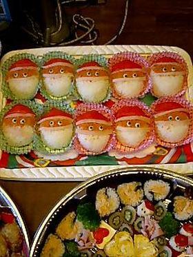 クリスマス★サンタがいっぱい