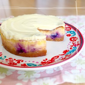 簡単♡二層のチーズケーキ