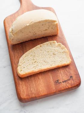 HB使用☆ココナツオイルでハーブのパン