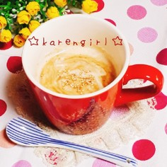 美容♡台湾風ごまきな粉ヨーグルトミルク♡