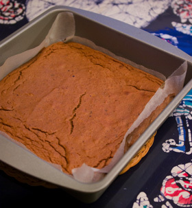 みかん&さつまいも☆ノンオイル・ケーキ