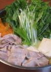 体ぽかぽか♪豚ばら肉と白菜と水菜の生姜鍋