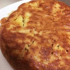 炊飯器&HMでリンゴと紅茶のホットケーキ
