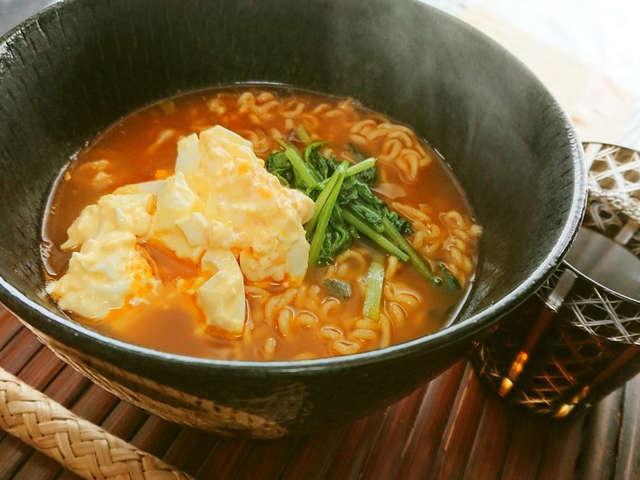 辛 ラーメン アレンジ レシピ