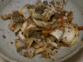 ☆キムチと玉ねぎの簡単炒め物★