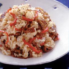 すき焼き風炒飯