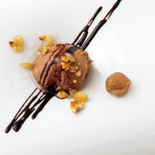 チョコバナナのムース