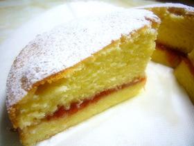 しっとりなヴィクトリアサンドイッチケーキ