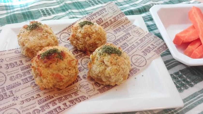 揚げない☆カボチャのチーズコロッケ