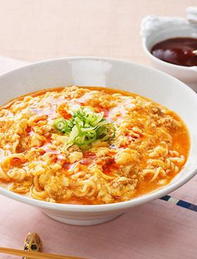 韓国風旨辛あんかけ麺