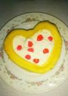 果物のロールケーキ