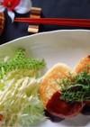 豆腐ハンバーグメイプル和風ダレ☆