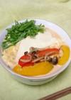 カラフル野菜のクリーミー辛ラーメン