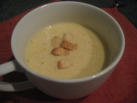 体ぽかぽか♪コーンスープ
