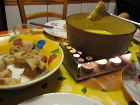 フランスの家庭料理 ♪チーズフォンデュ♪