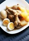 冬瓜と鳥手羽とたまごの煮物
