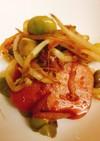 魚肉ソーセージともやしの生姜炒め