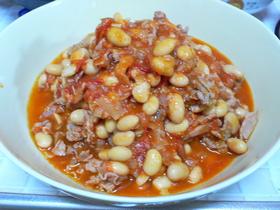 豚肉と大豆のトマト煮こみ