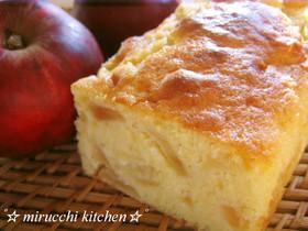 りんごのミルクパウンドケーキ