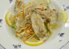 豚肉と野菜のレモンみそドレッシング