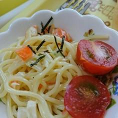 調味料2つで絶品⁉サラダスパゲティ