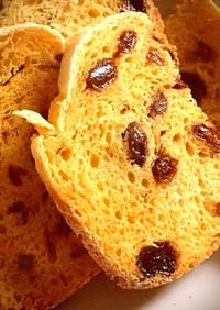 自家製酵母液をストレート法で食パン