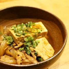 肉豆腐(メープルシロップで深い味わい)