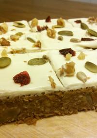 ヘルシーキャロットケーキ